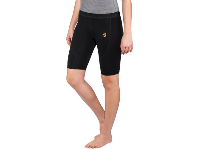 Aclima WarmWool Shorts Long Women Jet Black